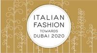 Italian fashion verso Dubai 2020 - II annualità