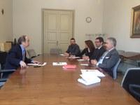Il Presidente Alfredo Parietti incontra Zhan Gang Delegato Generale CCPIT e CCOIC