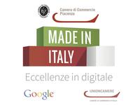 """La Camera di commercio di Piacenza partecipa al progetto """"Made in Italy:Eccellenze in digitale""""-Google Italia e Unioncamere"""