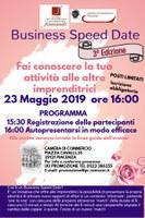 BUSINESS SPEED DATE AL FEMMINLE